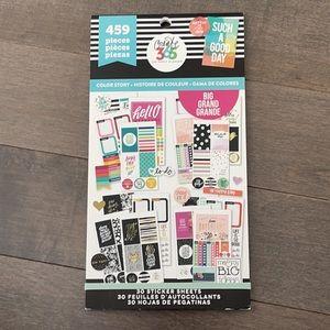 HAPPY PLANNER Big Color Story Sticker Book